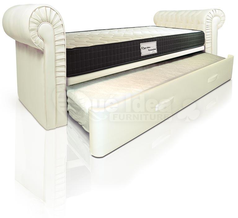 Camas nido camas supletorias cama div n con cajones - Cama tipo divan ...