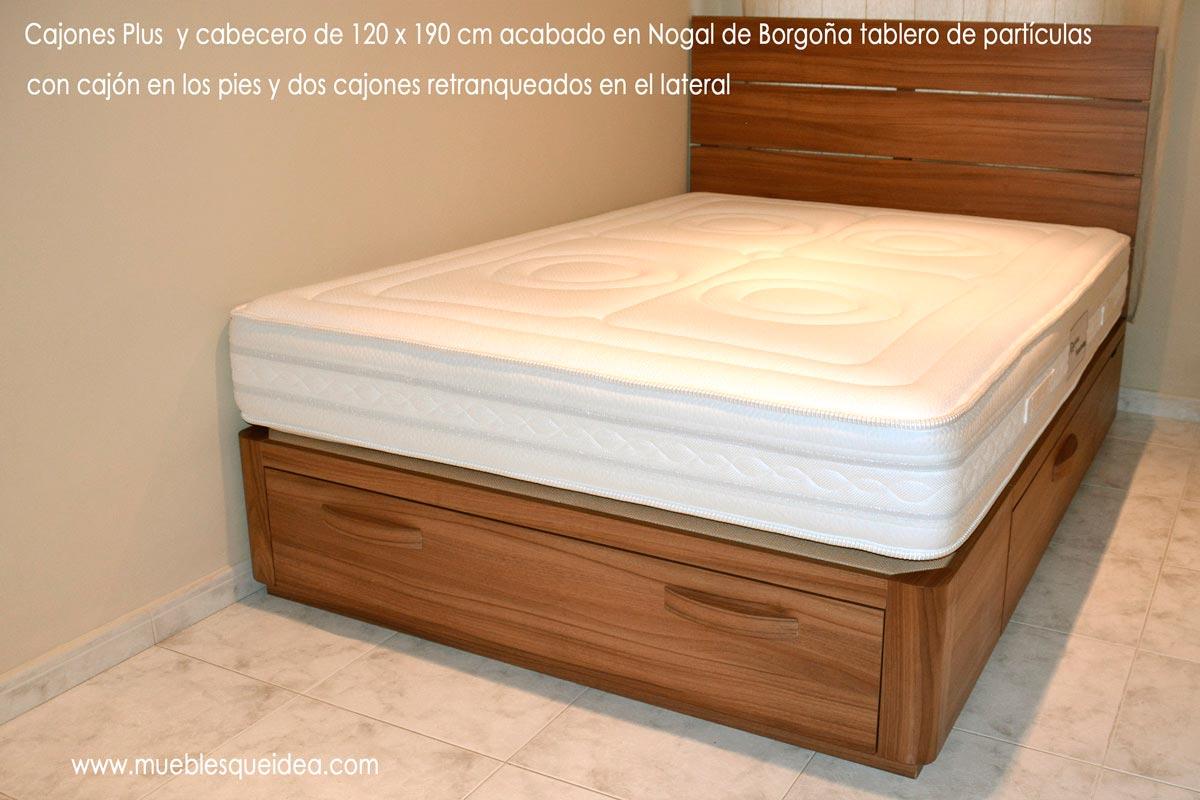 Camas con cajones interesting camas con cajones with for Camas de ninos con cajones