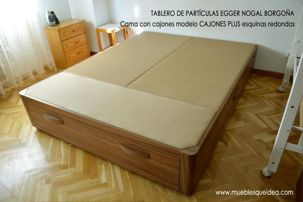 Modelos de camas con cajones  Muebles Qué Idea