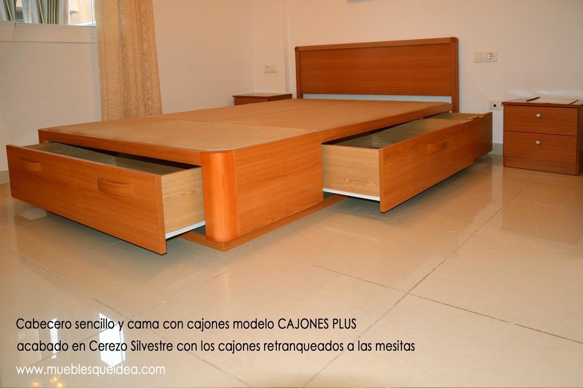Modelos de camas con cajones muebles qu idea for Modelos de barcitos hecho en madera