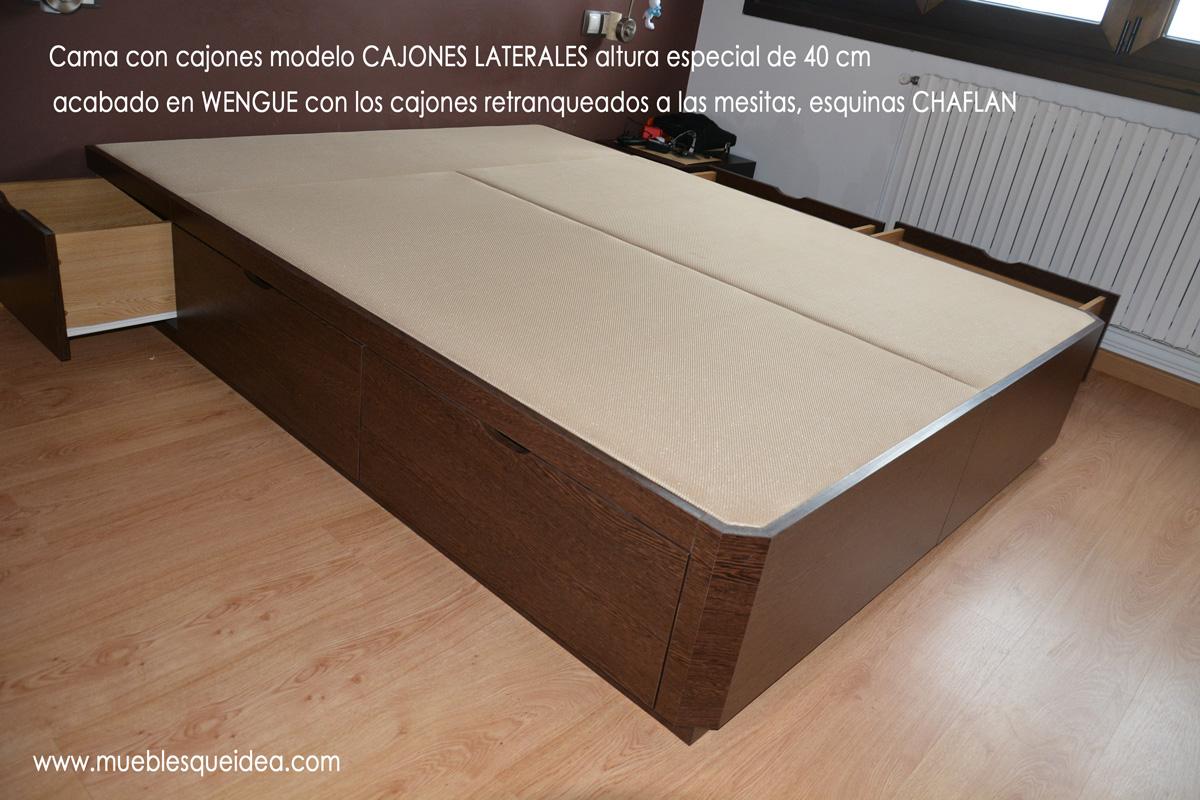 Modelos De Camas Con Cajones Muebles Qu Idea # Muebles De Madera Sostenible