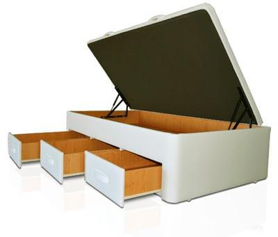 Camas con cajones informaci n preguntas sobre cama con cajones muebles que idea - Cama 90 con cajones ...
