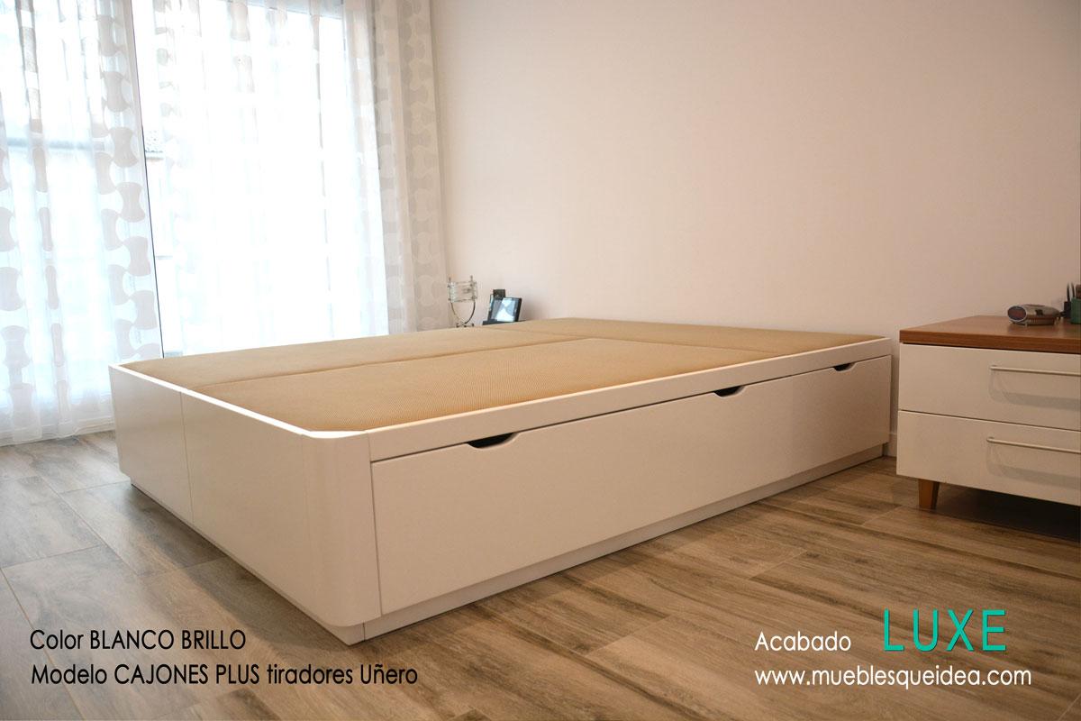 Modelos de camas con cajones| Muebles Qué Idea