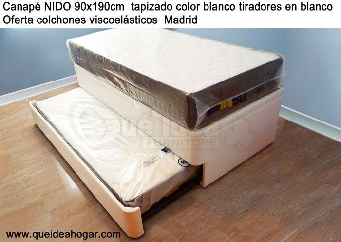 Colchones actual y comodo for Cama nido oferta madrid